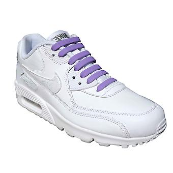 Purple Adults Easy No Tie For Trainers