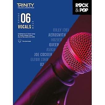 Trinity Rock & Pop 2018 sång klass 6 (manlig röst) - Trinity Rock & Pop 2018 (noter)