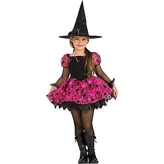 Niño traje de bruja mágica