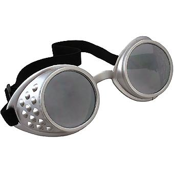 Glasses Aviator Goggles Bk/Clr