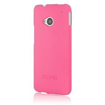 Incipio ohut vartalonmyötäinen sulka tapauksessa HTC One - Neon Pink