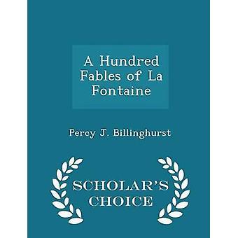 الخرافات مائة من العلماء لافونتين الطبعة اختيار طريق بيلينغورست آند بيرسي ج.