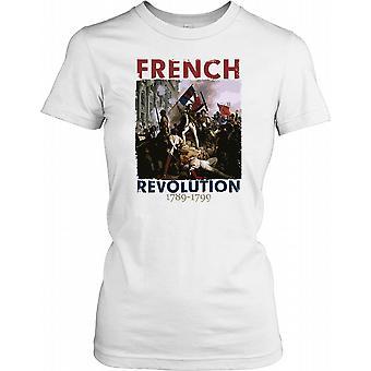 Ranskan vallankumouksen 1789-1799-Ludvig XVI naisten T-paita