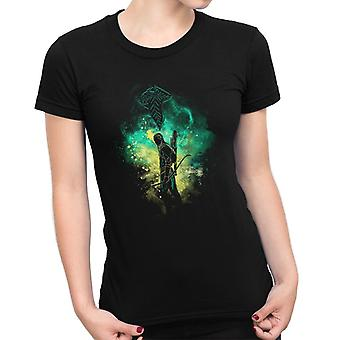 Lord Of The Rings Legolas Silhouette Women's T-Shirt