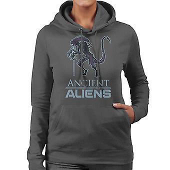 Ancient Aliens Damen Sweatshirt mit Kapuze
