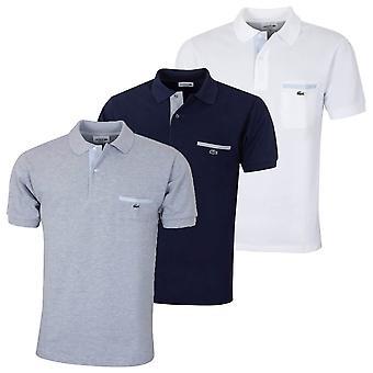 Lacoste Herre L. 12.12 kontrasterende detaljer Polo skjorte