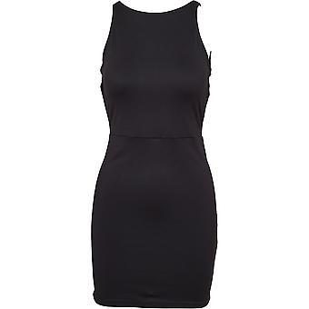 Urban Classics Damen Sommerkleid Back Cut Out