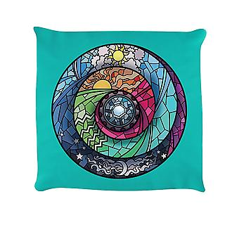 Grindstore Stained Glass Spectroscope Cushion