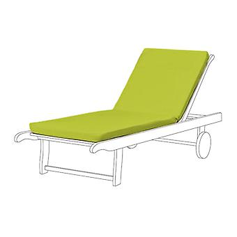 Gardenista® Lime Water Resistant Seat Pad for Sun Lounger