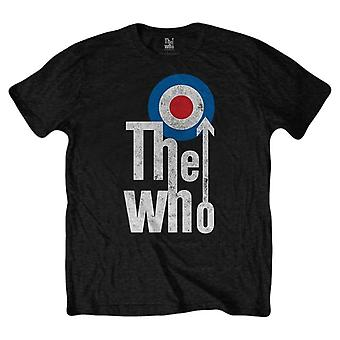 The Who Elevated Target T-Shirt - Black