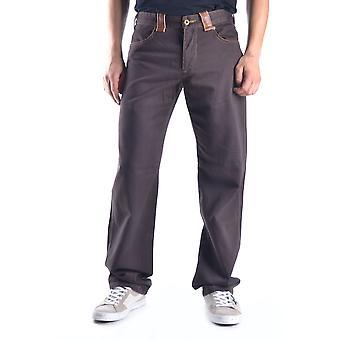 Ermanno Scervino Ezbc108009 Men's Brown Cotton Pants