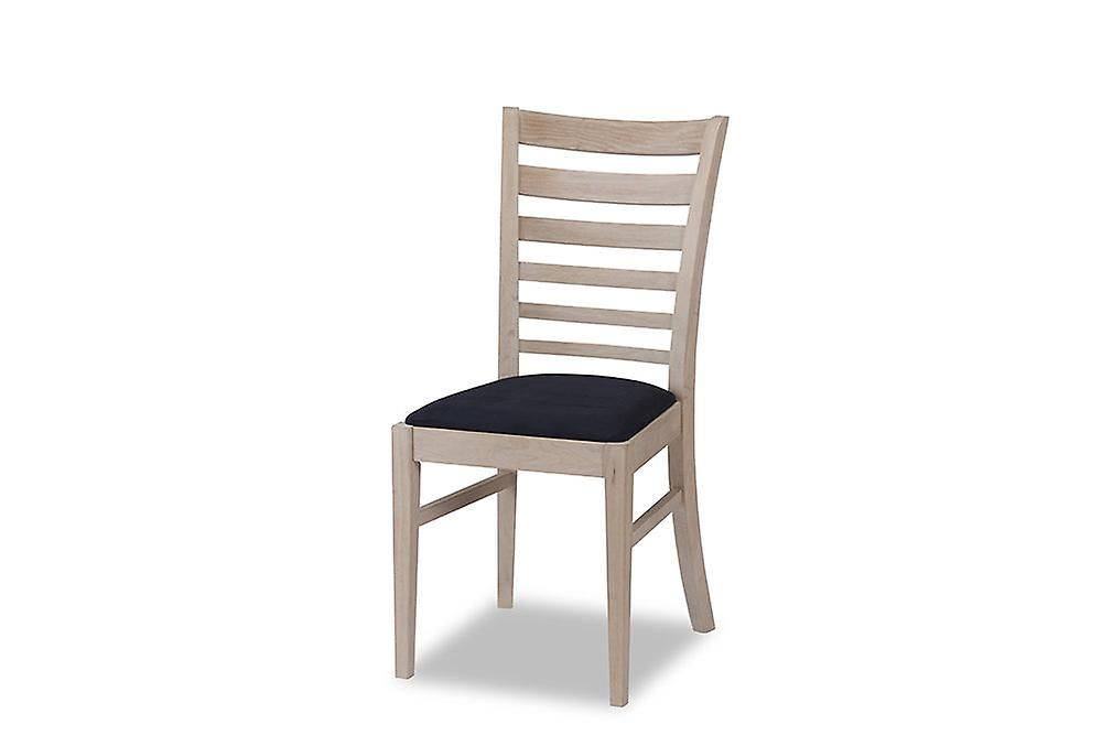Furnhouse Jannie Dining Chair, Oak, White Oil Finish, 54x45x94 cm, Set of 2