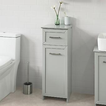 SoBuy Light Grey Grey Floor Standing Bathroom Storage Cabinet Unit with 1 Drawer 1 Cabinet,BZR11-HG SoBuy Light Grey Floor Standing Bathroom Storage Cabinet Unit avec 1 Tiroir 1 Cabinet,BZR11-HG