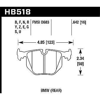 Hawk Performance HB518U.642 DTC-70