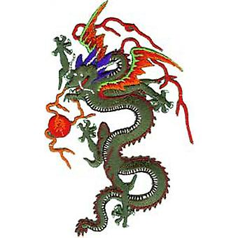 Patch - Animals - Green Dragon Iron On Gifts New Licensed p-3501
