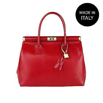 Handbag made in leather 9106