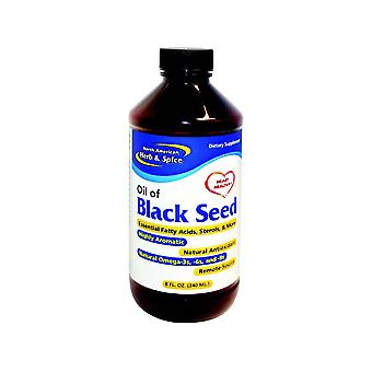 North American Herb & Spice Oil of Black Seed 240ml