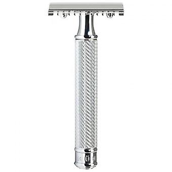 Chrome Security Plate Razor - Offener Kamm