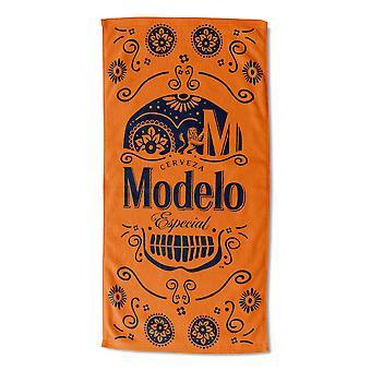 Modelo Especial Sugar Skull Beach Handtuch