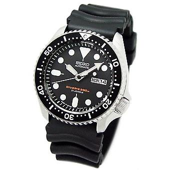 Seiko Automatic Diver Skx007 Skx007k1 Skx007k Rubber Band Men-apos;s Watch