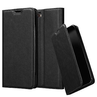 Cadorabo Hülle für ZTE Nubia M2 hülle case cover - Handyhülle mit Magnetverschluss, Standfunktion und Kartenfach – Case Cover Schutzhülle Etui Tasche Book Klapp Style