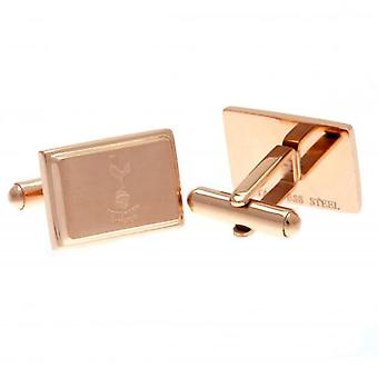 Tottenham Hotspur Rose Gold Plated Cufflinks