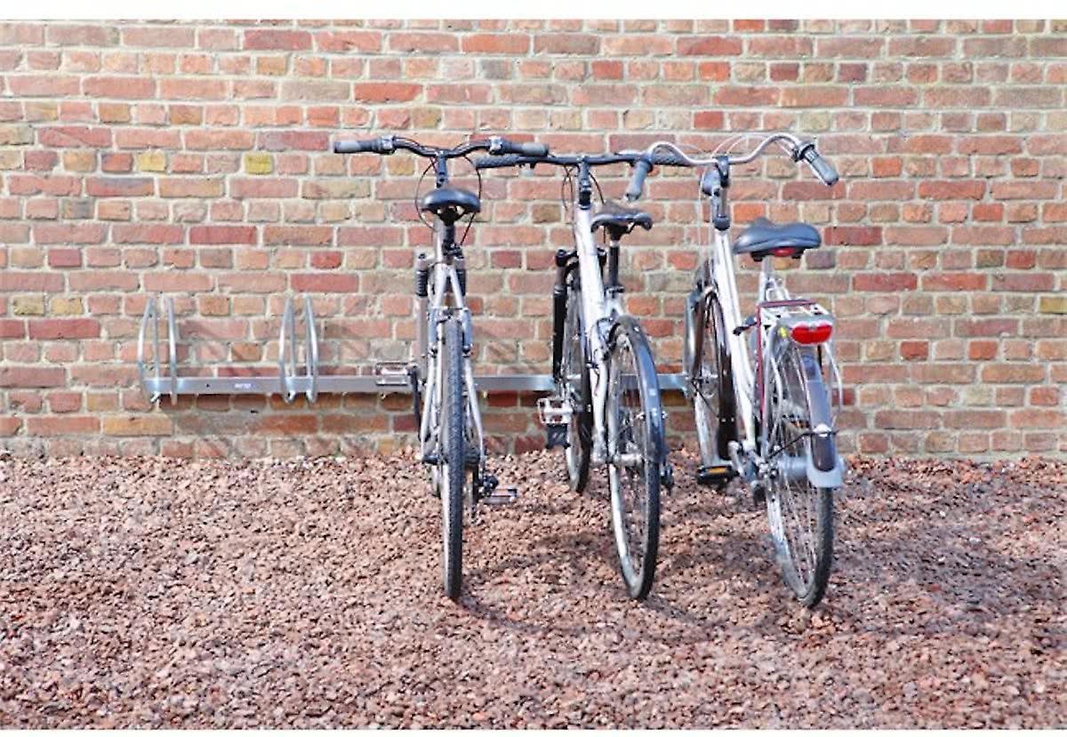 Mottez-fietsenrek Muurbevestiging (5 fietsen) 90 °