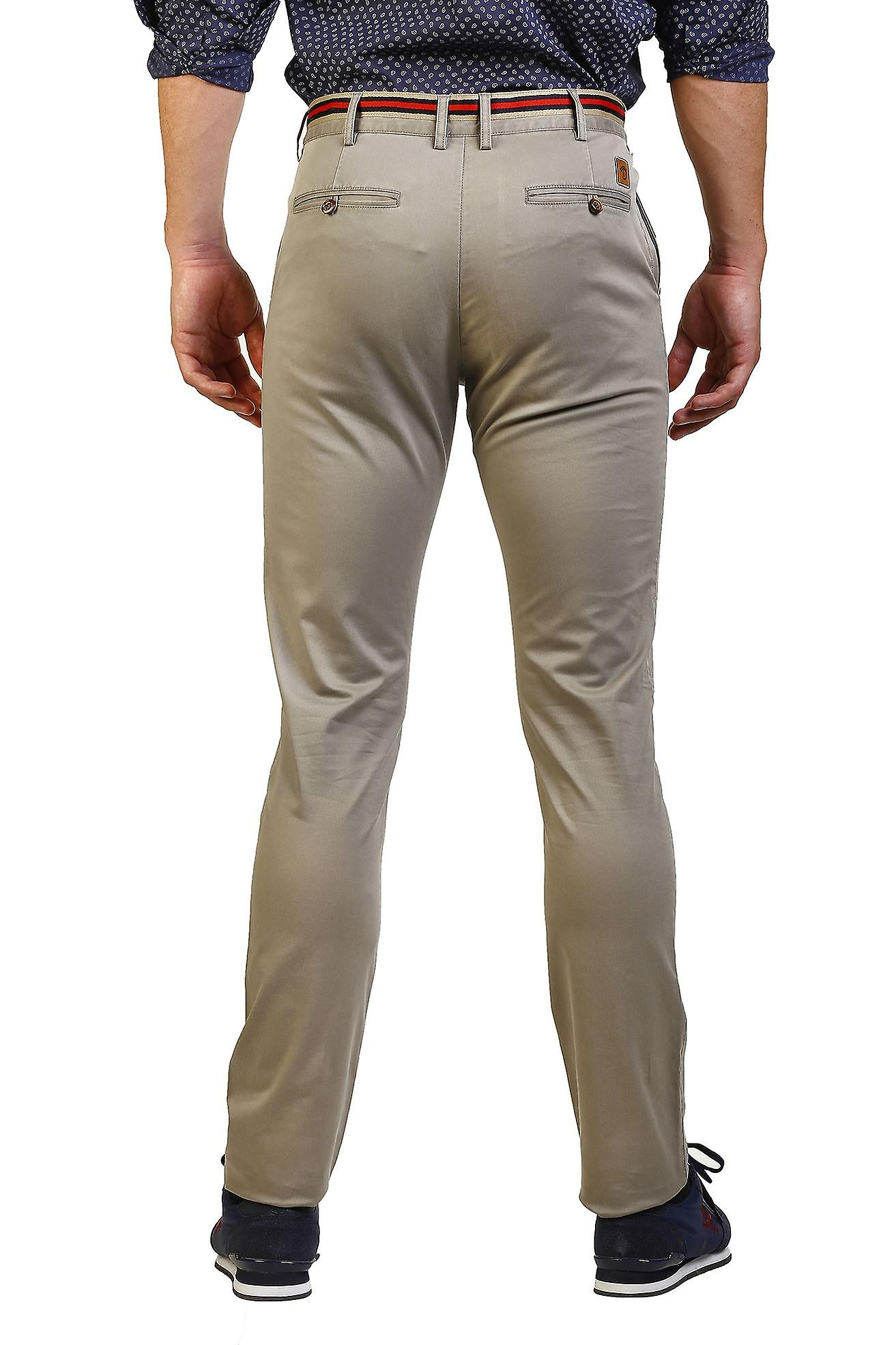 Pantalon Hombre The Time Of Bocha JI1PPOLO-110-Gris 714