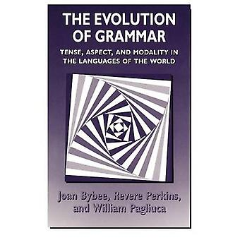 تطور الجانب النحوي-التوتر-والطريقة في اللغة