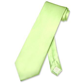 Biagio 100% silke slips ekstra lange Solid menns XL slips