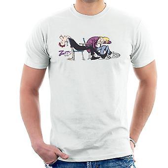 Zits Asleep In Class Men's T-Shirt