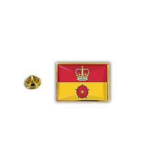 Pins Pin Badge Pin's Metal Broche Drapeau Anglais Royaume Uni Hampshire