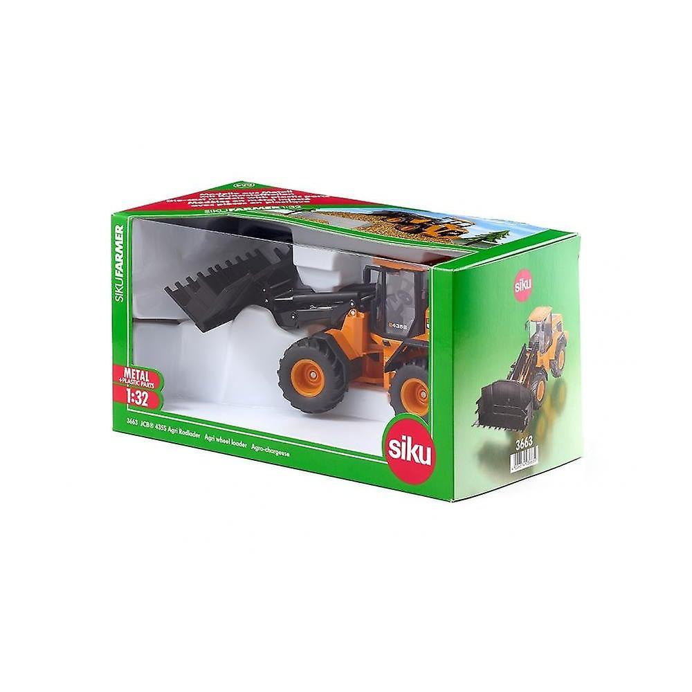 Siku JCB 435SAgri Wheel Loader 1:32  3663