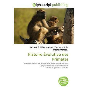 Histoire Volutive des primater