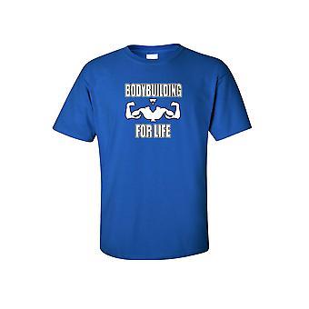 Mænds Bodybuilding For liv Workout Fitness kortærmet T-shirt