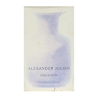 Alexander Julian Womenswear Fine Parfum Splash 4.0Oz/120ml In Box