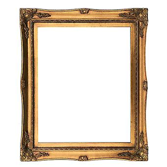 40x50 cm or 16x20 inch, wooden frame in gold