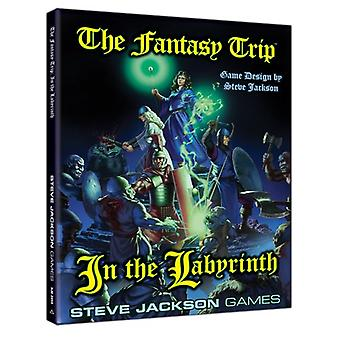 Fantasy Trip In the Labyrinth Book