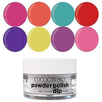 Cuccio Pro Powder Polish Nail Colour Dip System Dipping Powder - Heatwave Collection Set (8 X 14g) (CPDA9602)
