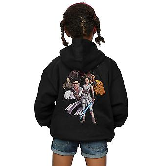 Star Wars Girls The Rise Of Skywalker Resistance Illustration Icon Zip Up Hoodie