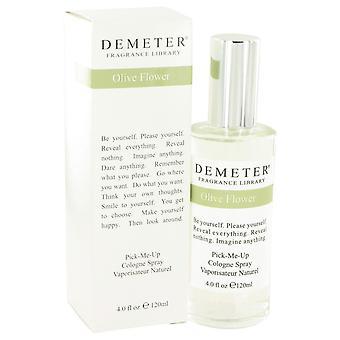 Demeter av Demeter oliven blomst Köln Spray 4 oz/120 ml (kvinner)