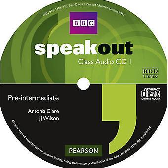 Speakout PreIntermediate Class CD x3 by Antonia Clare
