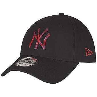 New Era 9Forty Cap - CAMO INFILL New York Yankees schwarz