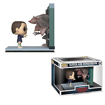 Stranger Things Eleven vs Demogorgon