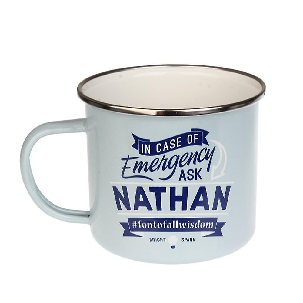 History & Heraldry Nathan Tin Mug 66