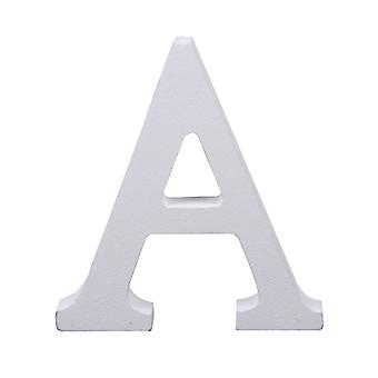Witte grote hoofdletter alfabet letters-A