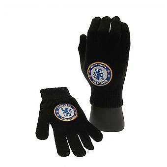 Chelsea FC Kinder/Kinder gestrickte Handschuhe