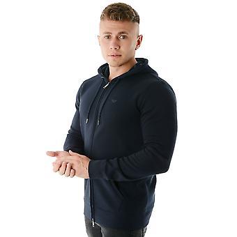 Armani Jeans Emporio Armani | 8n1m01 1jqpz Full Zip Kapuzen Pullover Top