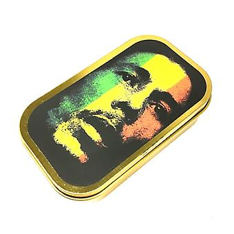 Tobacco case with Bob Marley