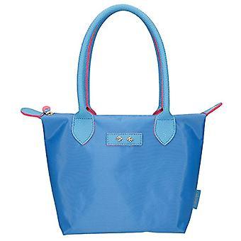 Depesche 10085 Hand Bag Trend Love Blue Light Ca. 31 x 21 cm